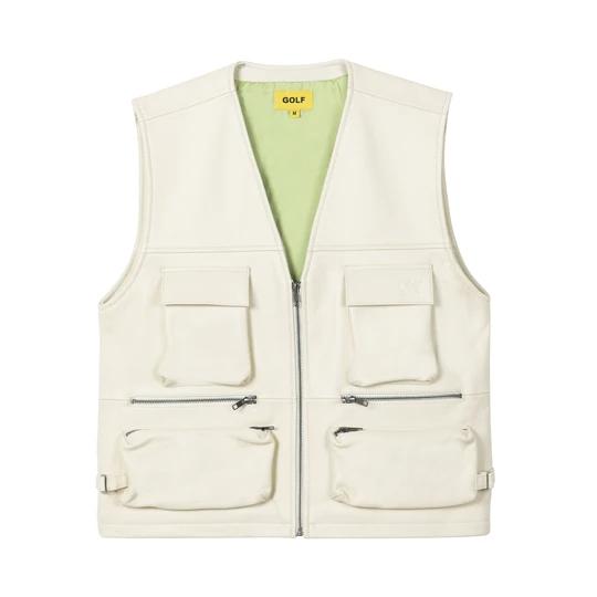 Leather Utility Vest