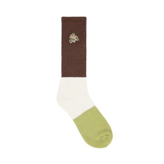 Tri Panel Socks
